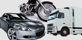 その2 バイク・小型車からトラックまで 幅広く対応可!